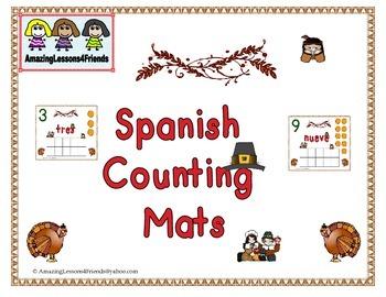 Spanish Counting Mats