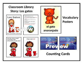 Spanish Counting Story - Gatos, gatos