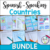 Spanish-Speaking Countries, Capitals, and Nationalities Bundle