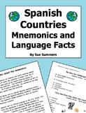 Spanish Countries Mnemonics and Language Facts