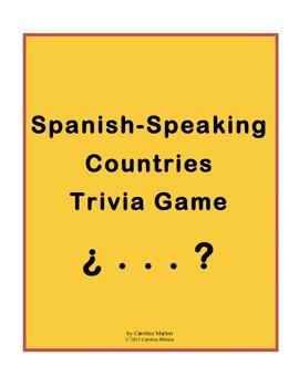 Spanish-Speaking Countries Trivia Game