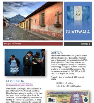 Spanish - Country Focus - Guatemala