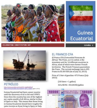 Spanish - Country Focus - Guinea Ecuatorial