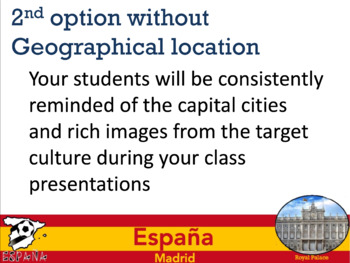 Spanish Country Powerpoint Backgrounds