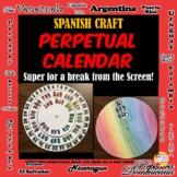 Spanish Craft Perpetual Calendar