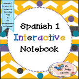Spanish 1 -  Interactive Notebooks