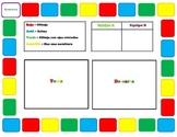Spanish Cranium Vocabulary Review Game