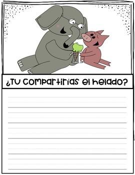 Spanish Creative writing