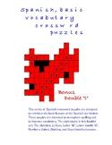 Spanish Crossword Puzzles I