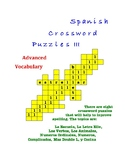 Spanish Crossword Puzzles III
