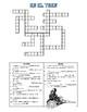 Spanish Crossword using train vocabulary and irregular preterite tense verbs