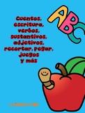 Spanish Reading Comprehension  stories/ Cuentos en español .