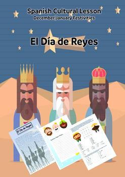 Spanish Cultural Lesson| December-January Festivities: El Dia de Reyes