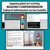 Spanish Cultural Reading Comprehension Los Castells Mystery Picture Art Google