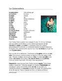 La Quinceañera Lectura y Cultura: Spanish Cultural Reading + Worksheet
