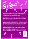 Spanish Cultural Reading:  Selena - Preterite Vs Imperfect