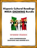 Spanish Cultural Readings MEGA GROWING Bundle: 84+ Lectura