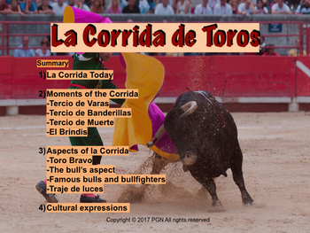 Spanish cultural activities: La corrida de toros - Bullfighting