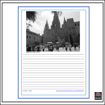 Spanish Culture - Barcelona, Spain Picture Writings #1