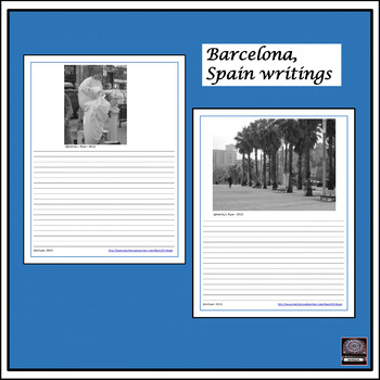 Spanish Culture - Barcelona, Spain Picture Writings #2