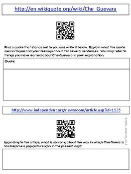 Che Guevara Webquest