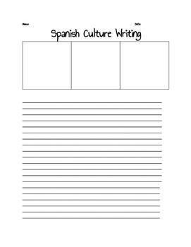 Spanish Culture Creative Writing
