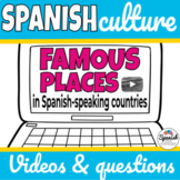 Spanish Culture: Famous Attractions Video Webquest