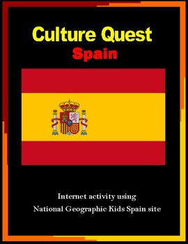 Spanish Culture Internet Activity