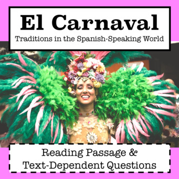 Spanish Culture: El Carnaval / Carnival in Spanish Speaking Countries