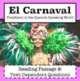 Spanish Culture: El Carnaval / Carnival in Spanish Speakin