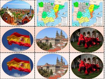 Spanish Culture Memory Game
