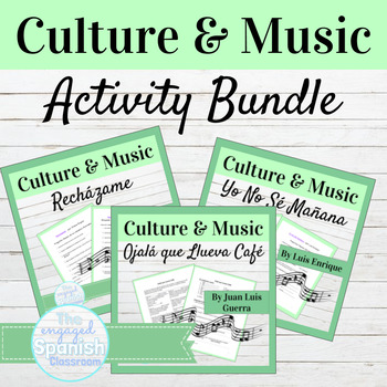 Spanish Culture + Music BUNDLE: 15 Cultural Lessons for Spanish Class