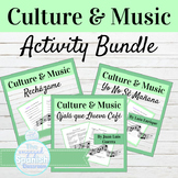 Spanish Culture and Music BUNDLE
