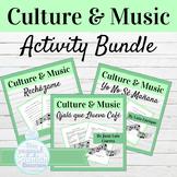 Spanish Culture through Music BUNDLE