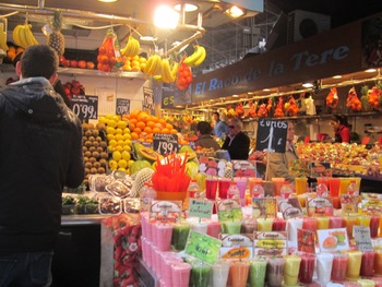 Spanish Culture – Photos of la Boqueria Market in Barcelona, Spain