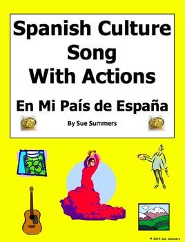 Spanish Culture Song In My Country of Spain - En Mi País de España