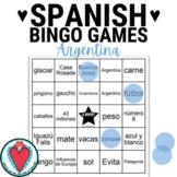 Spanish Speaking Countries - Argentina Bingo