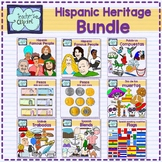 Spanish Culture and Language Clip Art GROWING Bundle - 346