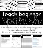 Spanish Curriculum & Lessons