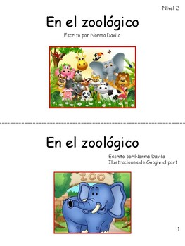 Spanish - DRA/EDL2 Practice Guided Reading Level 2