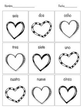 Spanish: Día de San Valentín early education