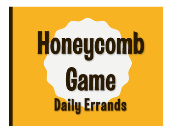 Spanish Daily Errands Honeycomb