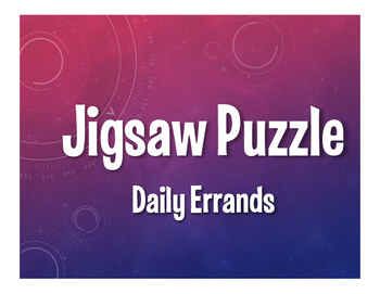 Spanish Daily Errands Jigsaw Puzzle