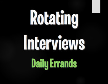Spanish Daily Errands Rotating Interviews