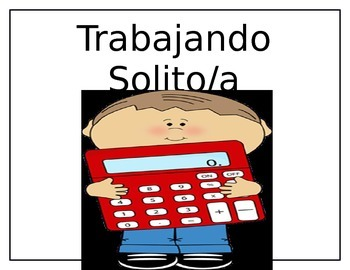 Spanish Daily Math