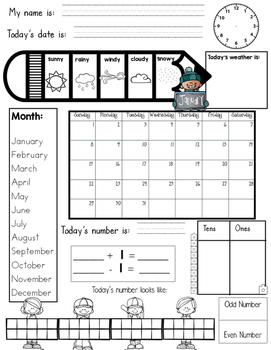 Calendar Number Of The Day 2016-2017 - Spanish and English