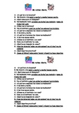 Spanish Teaching Resources. Daily Routine Role Play