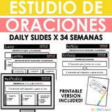 Spanish Daily Sentence Study - Digital - Yearlong