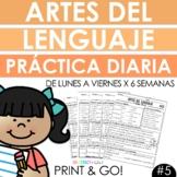 Spanish Daily Work - Grammar & Language Arts Practice #5