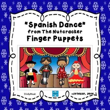 Spanish Dance (from The Nutcracker) Finger Puppets